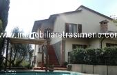 V62, Villetta con piscina